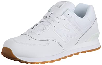 822e8faaf Amazon.com | New Balance Men's NB574 Leather Pack Running Shoe ...