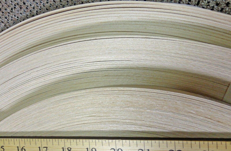 2MM thick wood edgebanding Birch Mahogany Maple Red White Oak 7//8 x 120 rolls