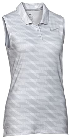 58fc7b052da160 Amazon.com: NIKE Women's Dry Sleeveless Golf Polo Sunset Pulse: Clothing