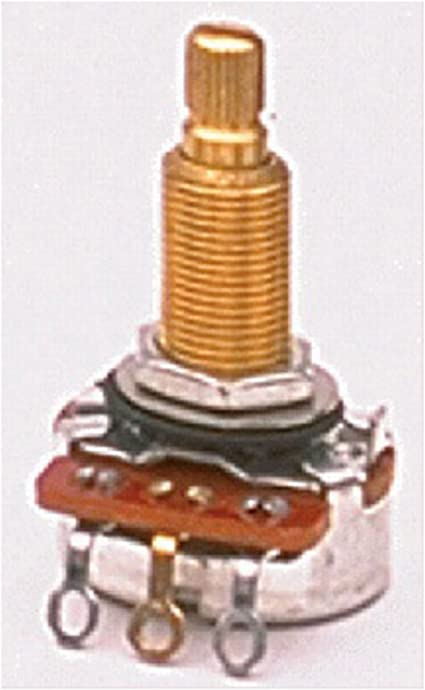 CTS 25K Long Thread Potentiometer for Electric Guitar and Bass