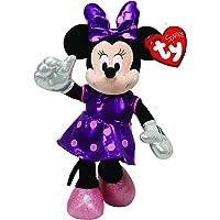 Pelucia Beanie Babies Minnie Lilás ref.3718 - DTC