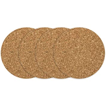 COM-FOUR® 4x potaster redondo, Ø 16.5 x 1 cm, platillo para