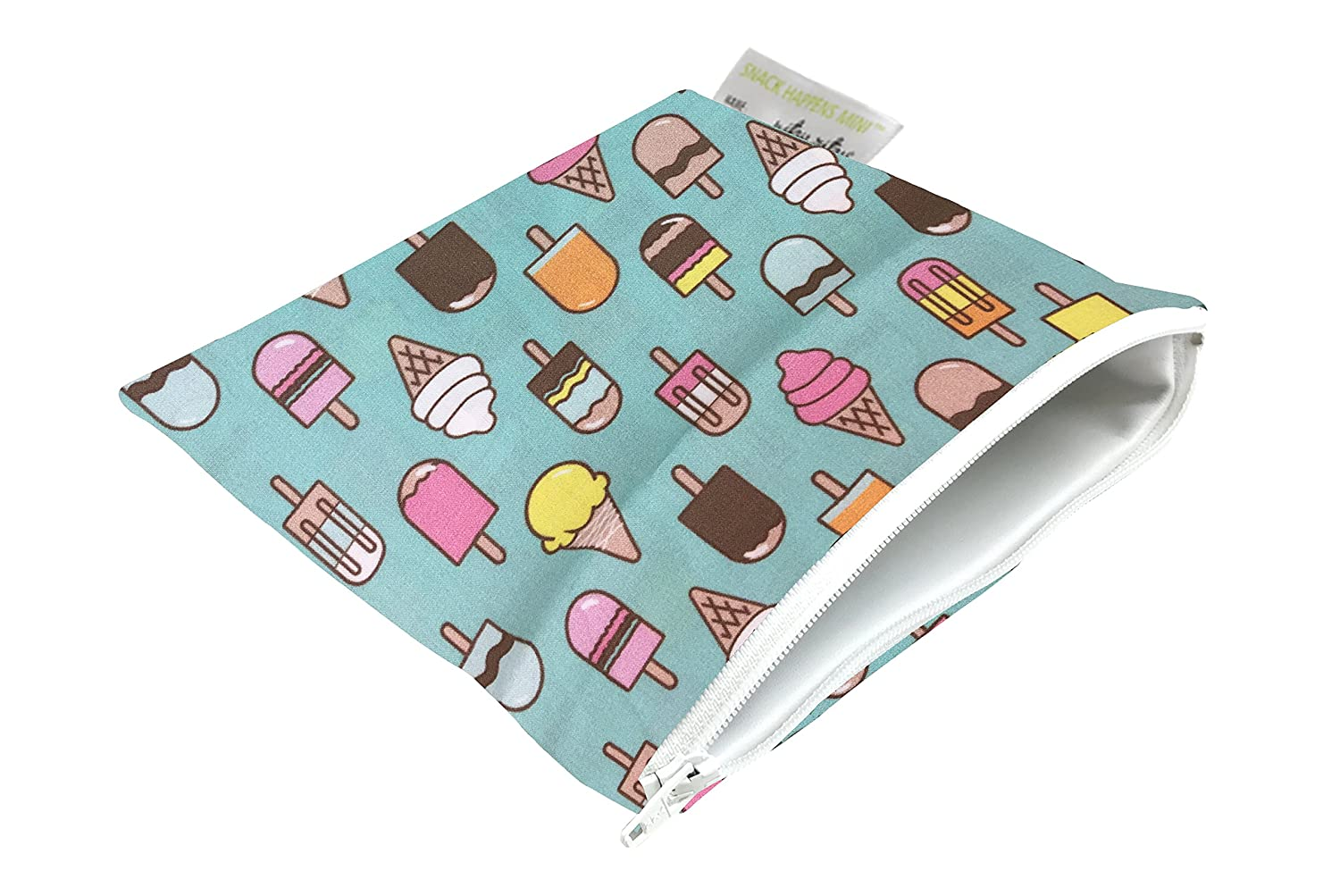 Itzy Ritzy Reusable Snack and Everything Bag Dot Dot Dash