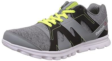92a7aa32cb26 Reebok Men s Electro Run Flat Grey