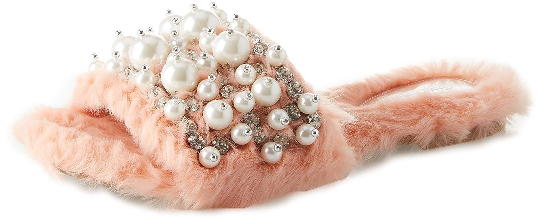 Jeffrey Campbell 11-Facil-BP Fake Fur, Sandales Bout Ouvert Femme, (Light Pink 001), 38 EU