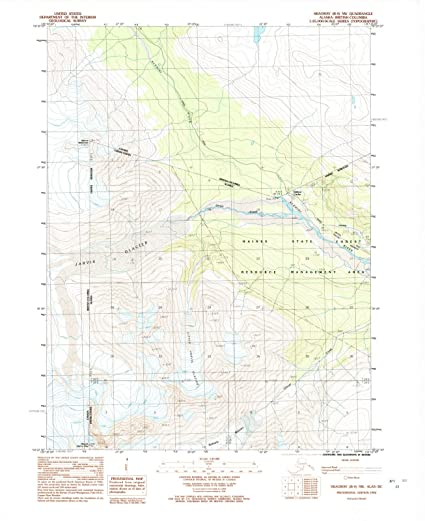 Amazon.com: Alaska Maps | 1992 Skagway, AK USGS Historical ...