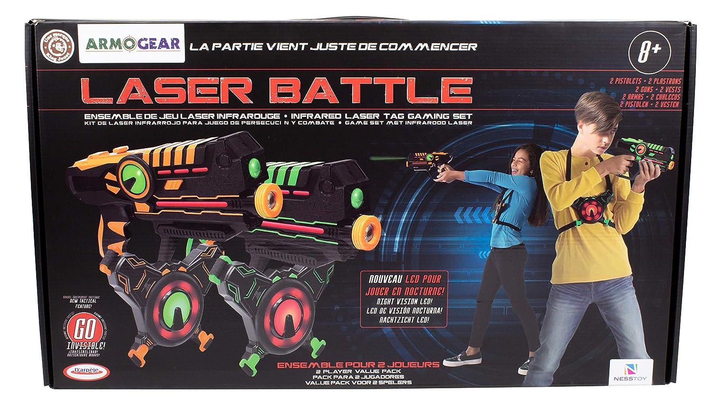D'Arpèje Pistola Laser, colore verde Arancione, jeu de