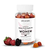 Daily Women's Multivitamins, 60 Gummies (30 Day Supply): Vitamin C and D3 for Immunity...