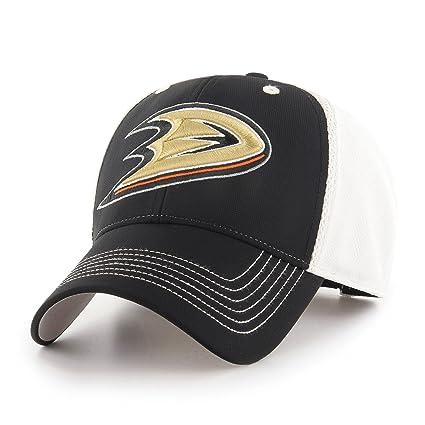 c2a94082 OTS NHL Anaheim Ducks Sling All-Star MVP Adjustable Hat, Black, One Size