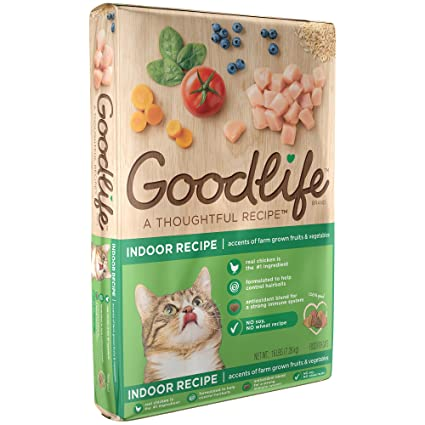 Amazon goodlife adult indoor chicken recipe dry cat food 16 goodlife adult indoor chicken recipe dry cat food 16 pounds discontinued by manufacturer forumfinder Images