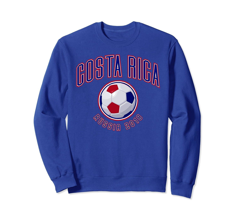 Costa Rica Soccer Sweatshirt 2018 Russia World Futbol Team-alottee gift