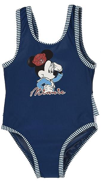 Minnie Mouse bebé-niñas Traje De Baño Una Pieza: Amazon.es ...