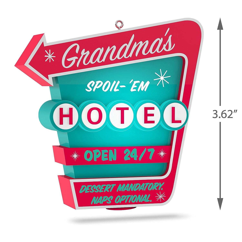 Amazon.com: Grandma\'s Spoil-\'Em Hotel Ornament Family: Home & Kitchen