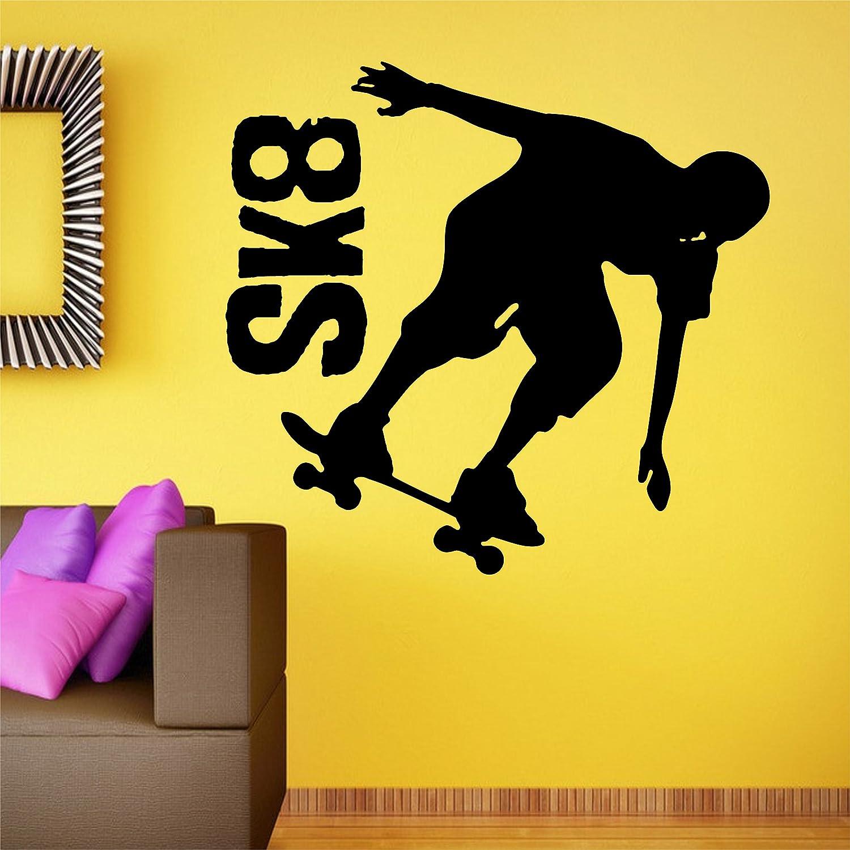 Amazon com jcm custom skateboard skater sk8 skate removable