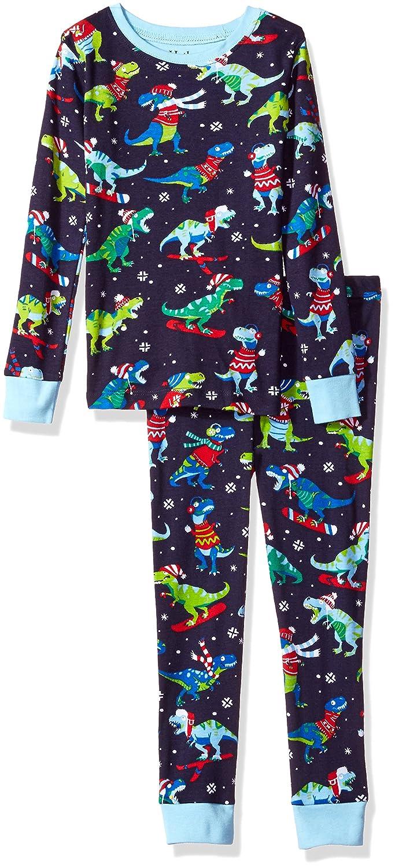 Hatley Boy's Organic Cotton Long Sleeve Printed Pyjama Sets PJBWIBE418