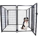 ALEKO DK5X5X4SQ Pet System DIY Box Kennel Dog Kennel Playpen Chicken Coop Hen House 5 x 5 x 4 Feet