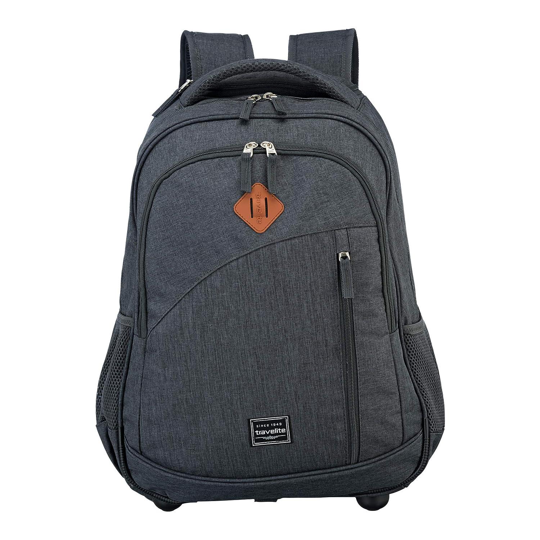 Travelite Basics Sac à dos 2 roulettes 47 cm compartiment Laptop