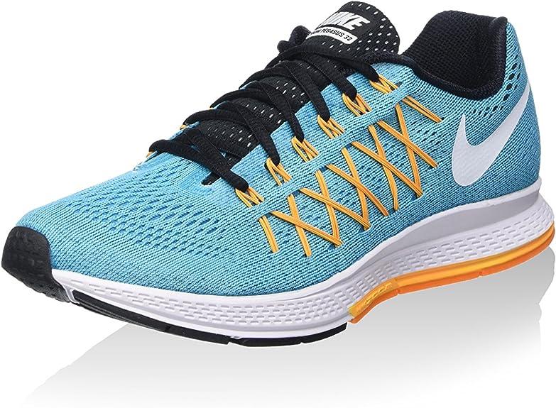 Nike Wmns Air Zoom Pegasus 32, Zapatillas de Running para Mujer, Azul (GMM Bl/White-LSR Orng-Vvd Orng), 36 EU: Amazon.es: Zapatos y complementos