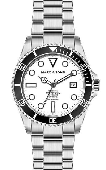Marc & Sons BGW9 Reloj de buceo Profesional automático - MSD-044-B Reloj