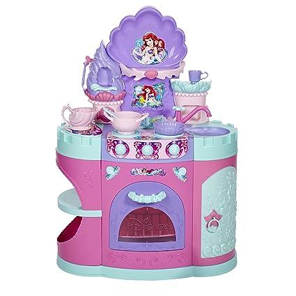 amazon com disney princess magical mermaid kitchen toys games rh amazon com disney princess mega play kitchen disney princess wooden play kitchen