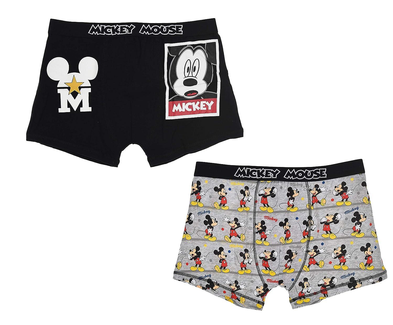 TALLA L. Disney Mickey Hombre Set Calzoncillos