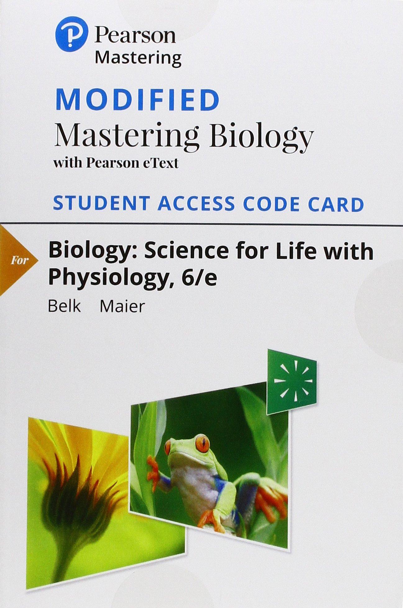 Biology:Science F/Life.. Mod.Mastering.