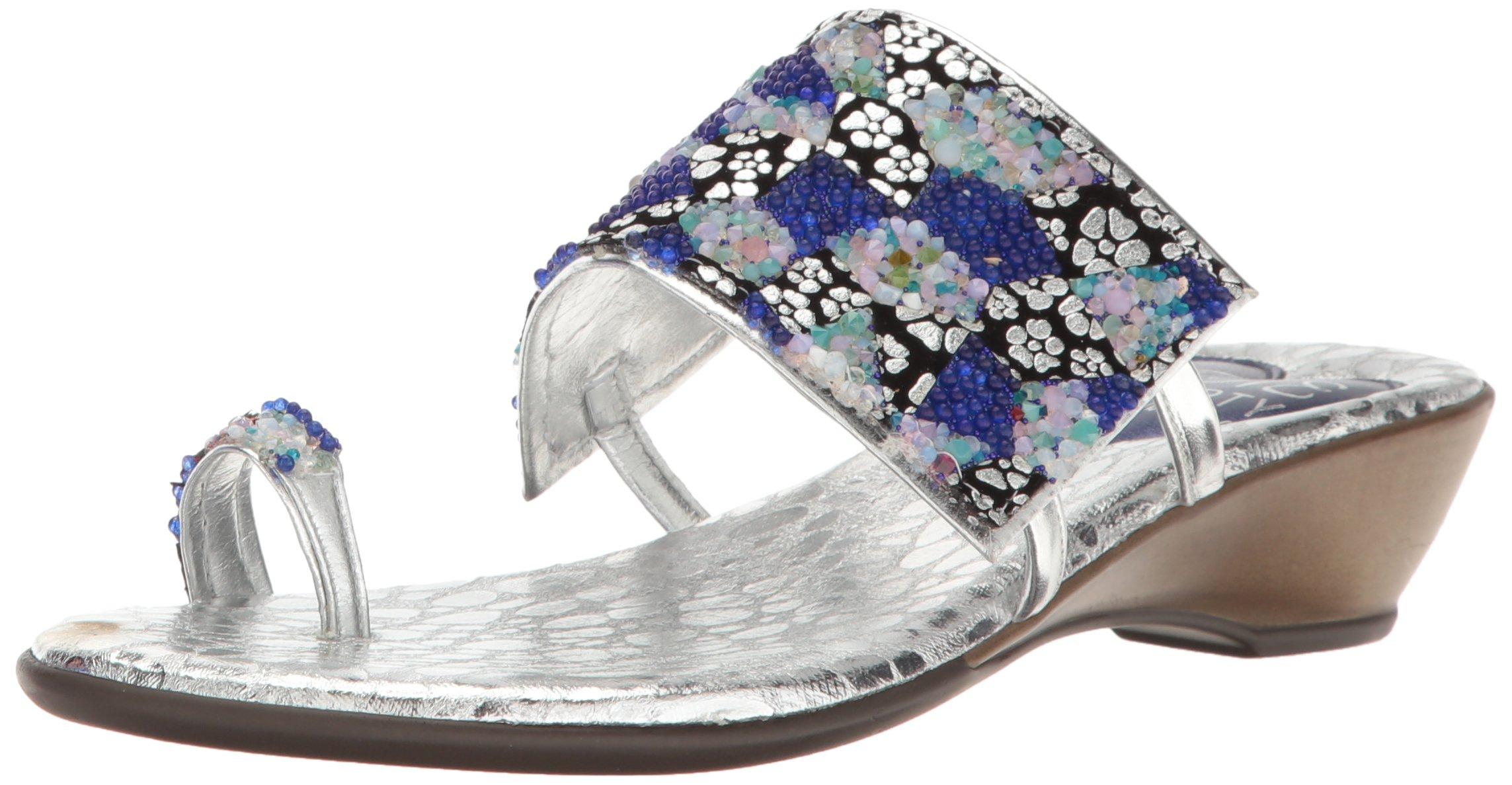 Love & Liberty Women's Symone-LL Dress Sandal, Mos Blue, 7 M US