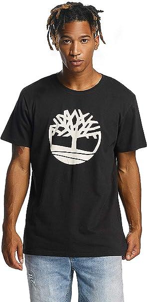 Timberland CA1LAD, Camiseta para Hombre, Negro (Black), X-Large: Amazon.es: Ropa y accesorios