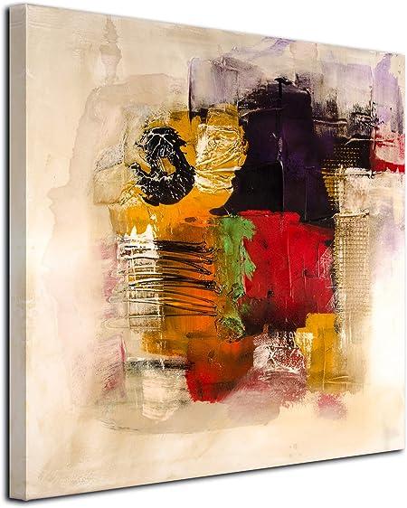 Peinture sur toile abstraite deco