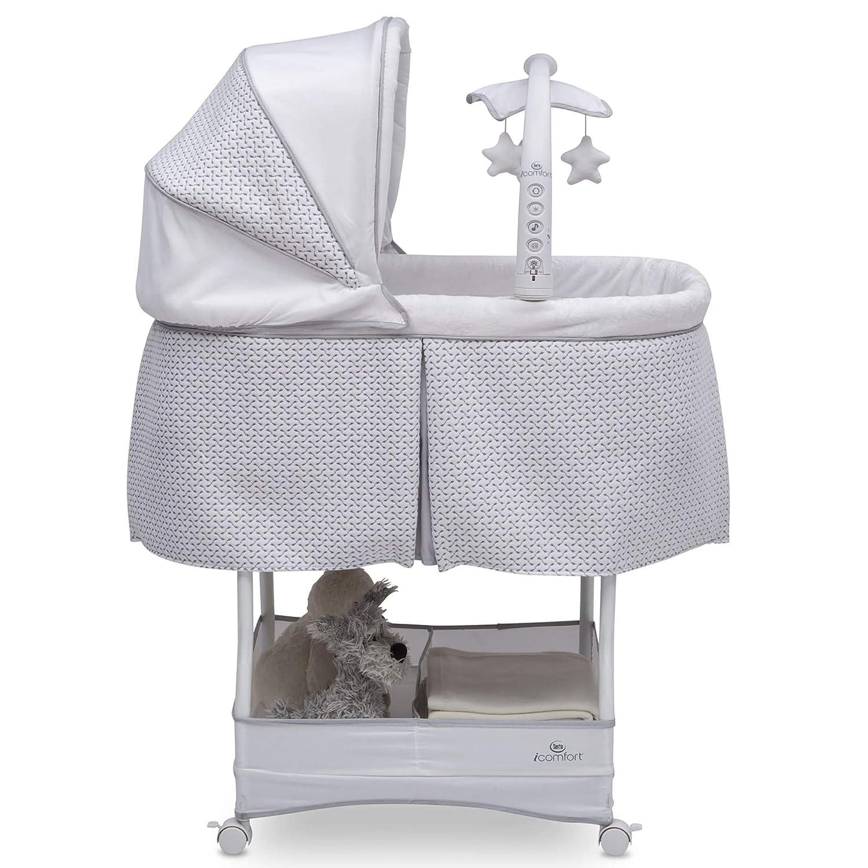 ghdonat.com White Serta Icomfort Auto Glide Bassinet Baby Cribs ...