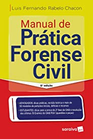 Manual de prática forense civil - 6ª edição de 2019