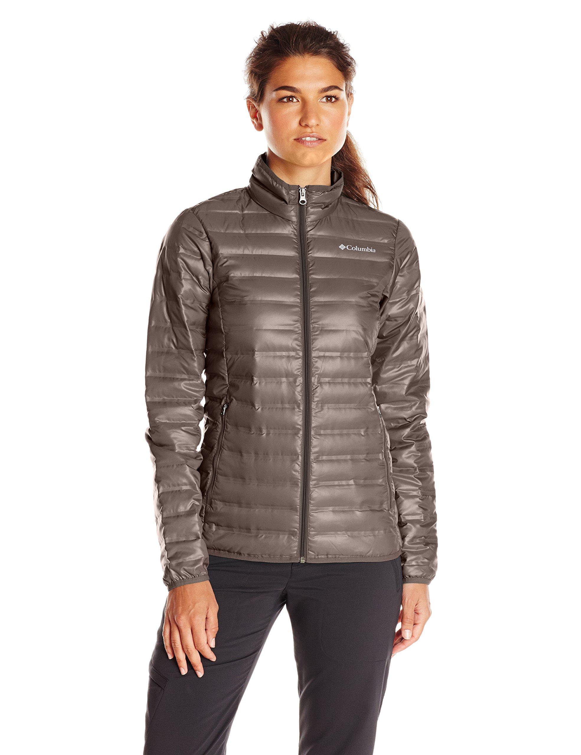 Columbia Women's Flash Forward Down Jacket, Mineshaft, X-Large