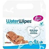 WaterWipes Salviettine Umidificate - 4 Pacchetti da 60