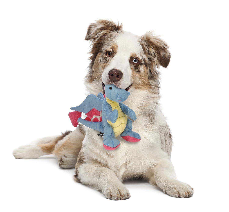goDog Dragon with Chew Guard Technology Tough Plush Dog Toy