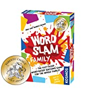 Thames & Kosmos Word Slam Family | Fast-Paced Multiplayer Party Card & Word Game | High Playercount | Based On The Award Winning Word Slam