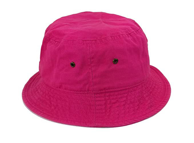 Amazon.com  Plum Feathers Polo Fishing Bucket Hat - Assorted Colors ... c8872b19a03