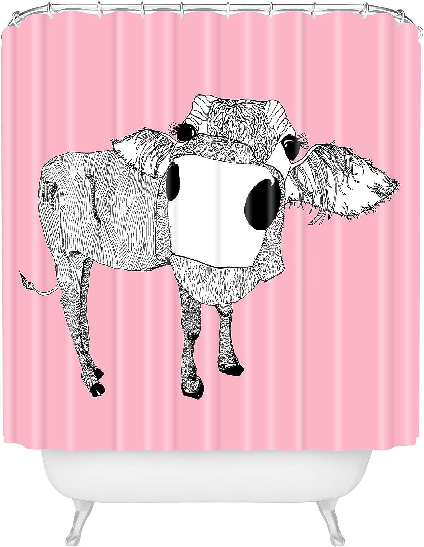 Deny Designs Casey Rogers Cowface Fleece Throw Blanket 60 x 80