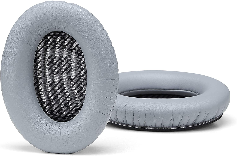Accessory House auricolari compatibili con le cuffie Bose QuietComfort 35 (QC35) e QuietComfort 35 II (QC35 II). Premium in pelle proteica | morbida