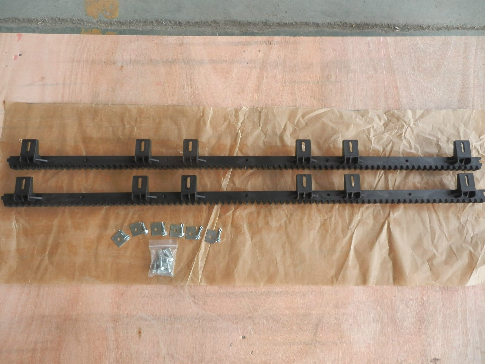 10 - 39'' Gear Track for Rack & Pinion Gate Openers For Sliding Rolling Roller Slide Gates European Style