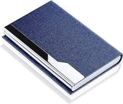 MaxGear Professional Metal Business Card Holder Pocket Business Card Case Slim B