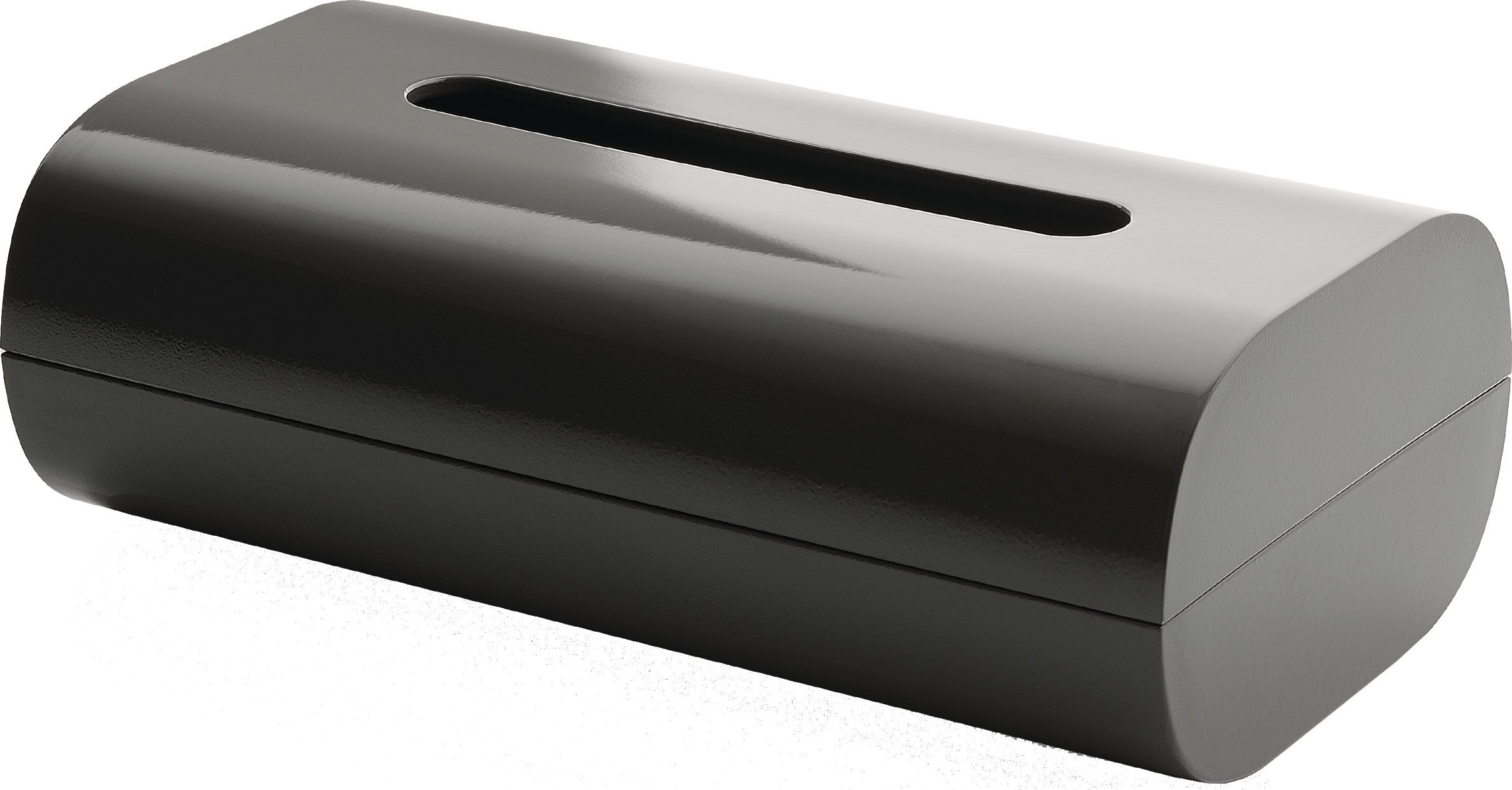 Alessi ''Birillo'' Tissue Box, Dark Grey