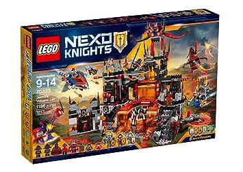 Nexo Volcanique Jestro Construction De Repaire 70323 Knights Le Lego Jeu SGzqMpUV