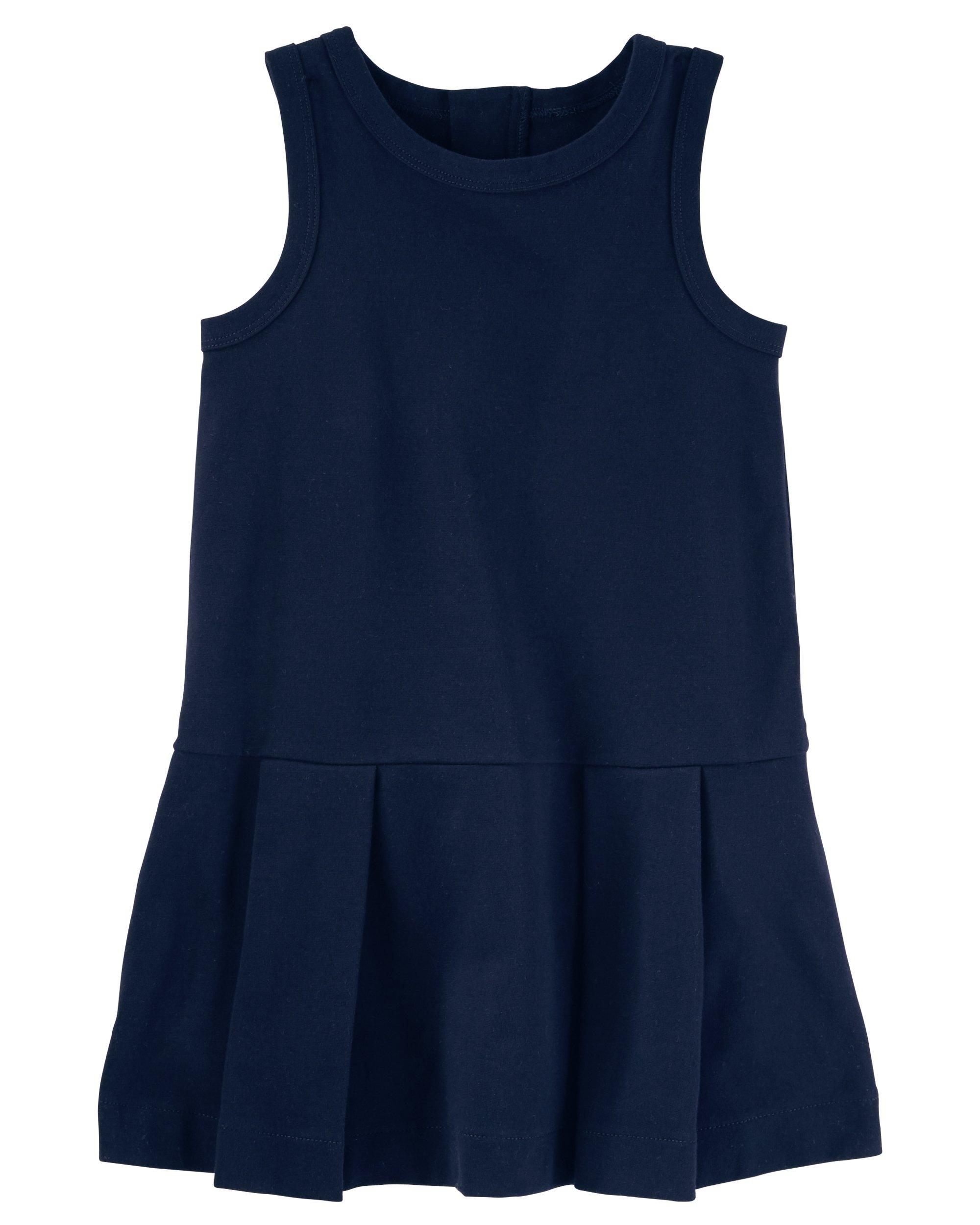 Osh Kosh Girls' Kids Uniform Jumper, Navy, 7