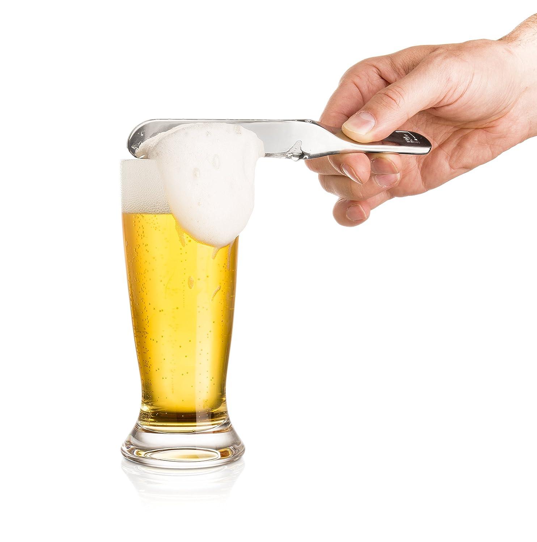 Vacu Vin 77003606 Barkeeper Bierklinge Beer Blade, Silver