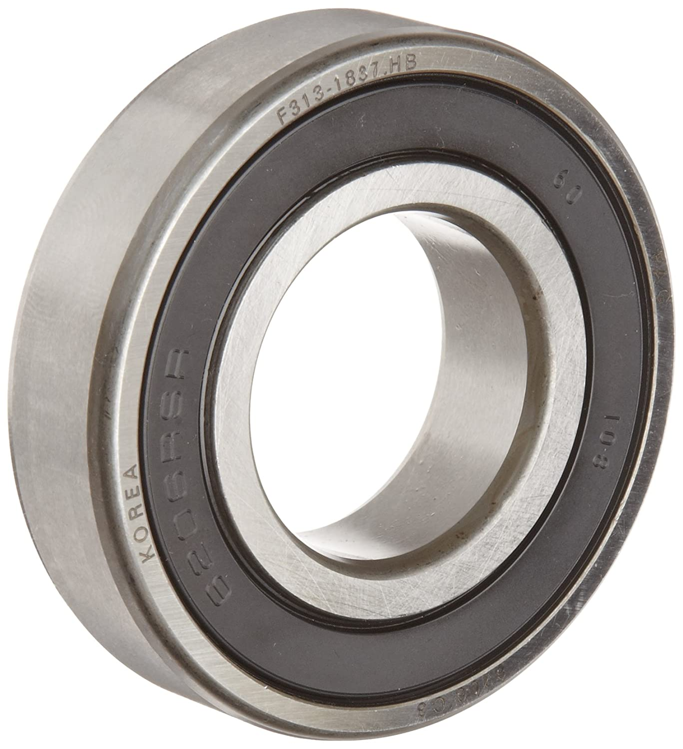 6004-2RS FAG Ball Bearing  20x42x12 mm 6004-2RSR