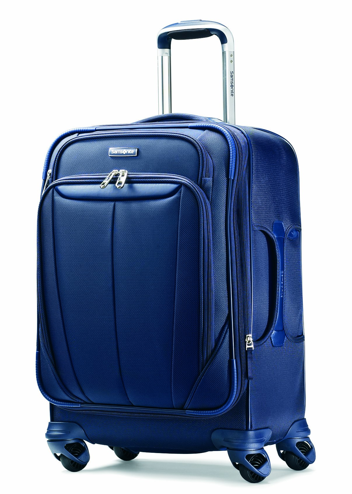 Samsonite Luggage Silhouette Sphere Expandable 21 Inch Spinner, Indigo Blue, One Size