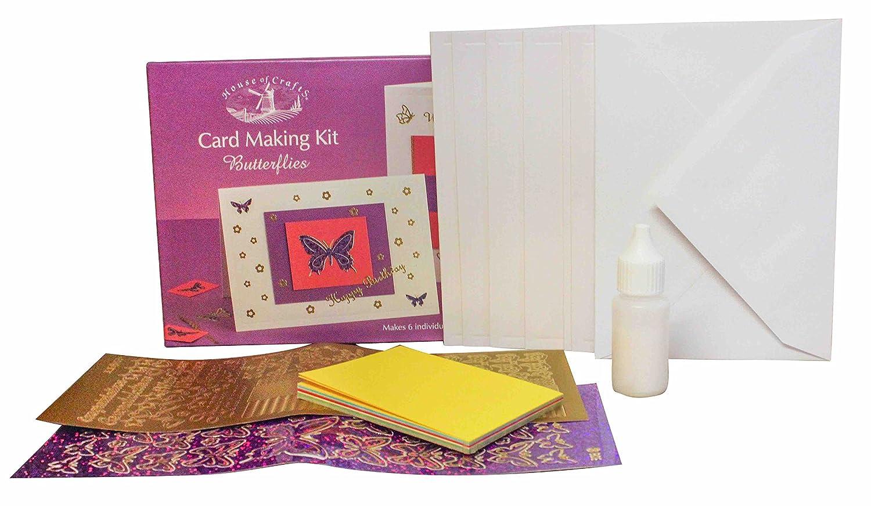Card making kit butterflies kite making kits amazon canada stopboris Images
