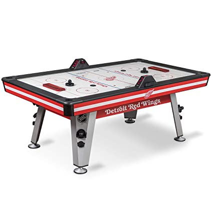 Amazon Com Nhl Air Powered Hockey Table Detroit Red Wings 84