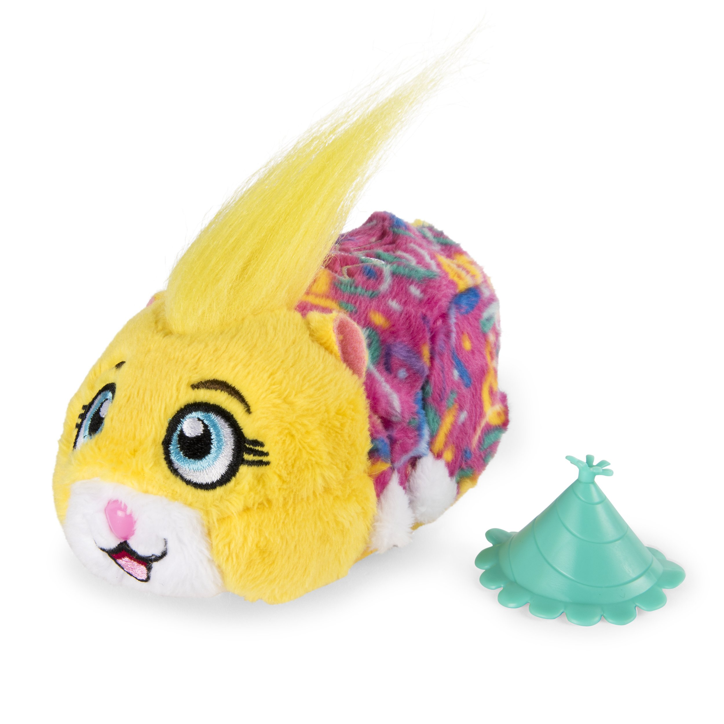 Zhu Zhu Pets - Birthday Party Pipsqueak 4'' Hamster Toy with Sound and Movement