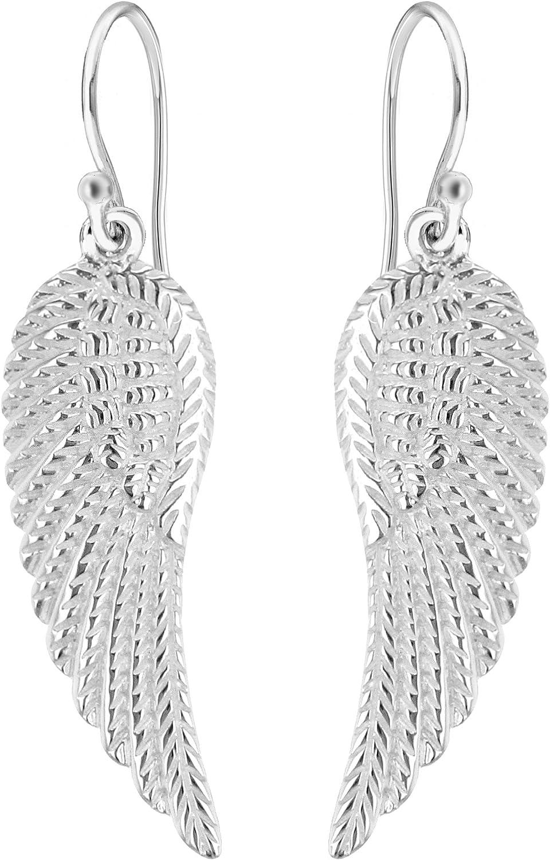 Tuscany Silver Pendientes de Plata de Ley (925/1000) para Mujer